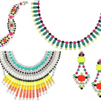 DIY Neon Necklace – Tom Binns Inspired