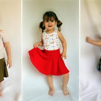 American Apparel Inspired Circle Skirt