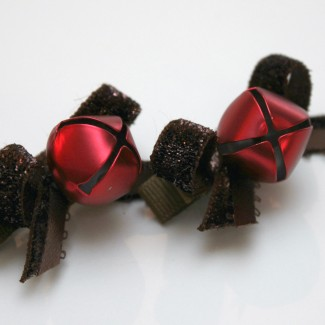 DIY Reindeer Jingle Hairclips