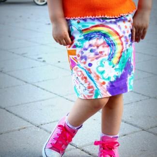 The Graffiti Skirt