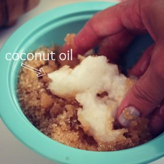 DIY Lemon Cake Body Scrub- a recipe