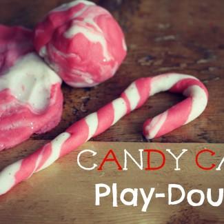DIY Candy Cane Play Dough