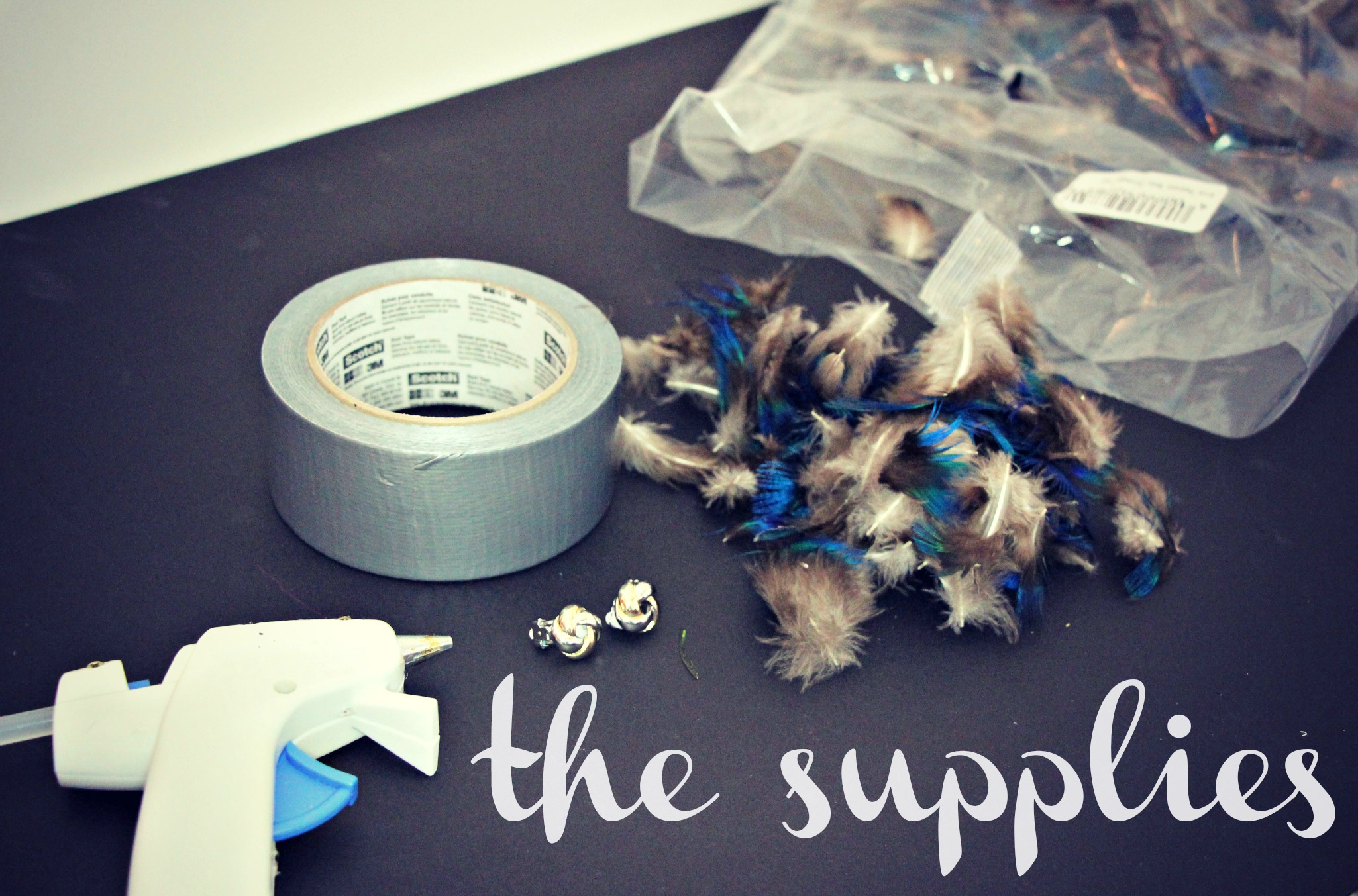 Peacock Feather Bow Shoe Clips