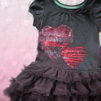 Doily Print Valentine's Dress Tutorial (Easy!)