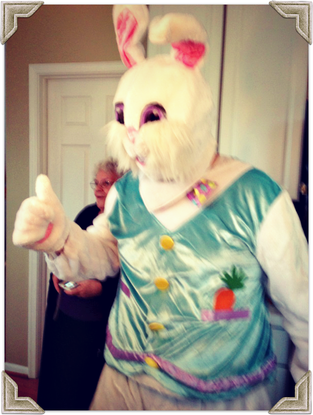 daddy easter bunny