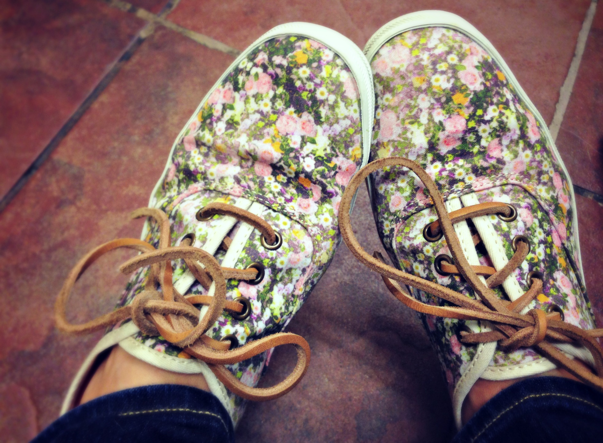 Floral Keds for Madewell::Little Pink Monster