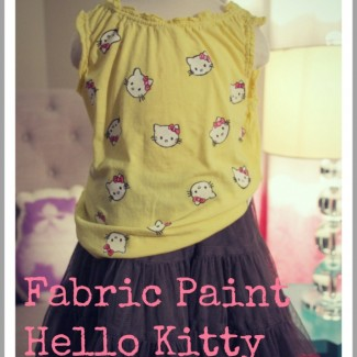 """Hello Kitty Says, """"Stain Stain Go Away, I'm Sure You'll Come Back Another Day!"""""""