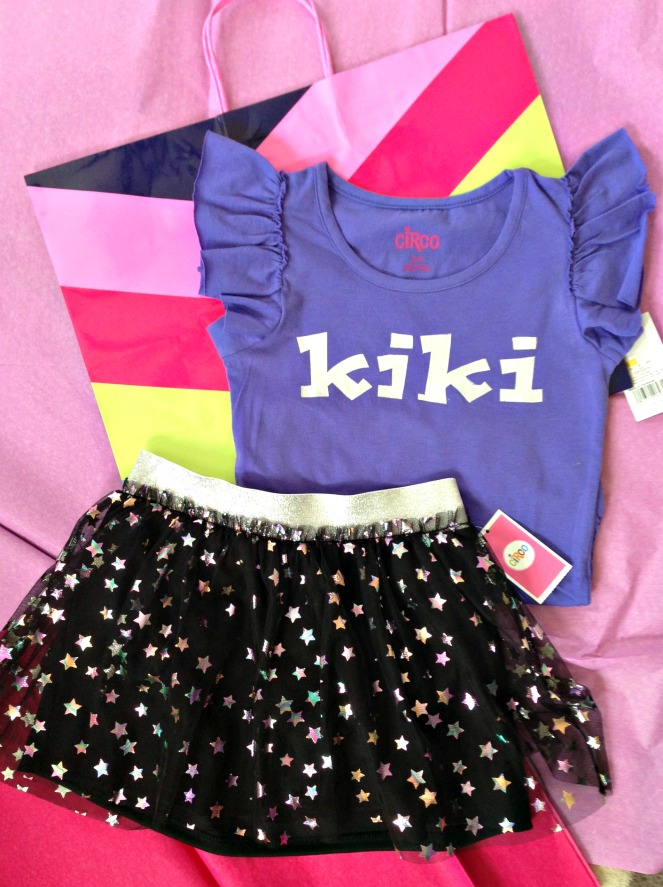 semi homemade personalized birthday dresses ::by Little Pink Monster