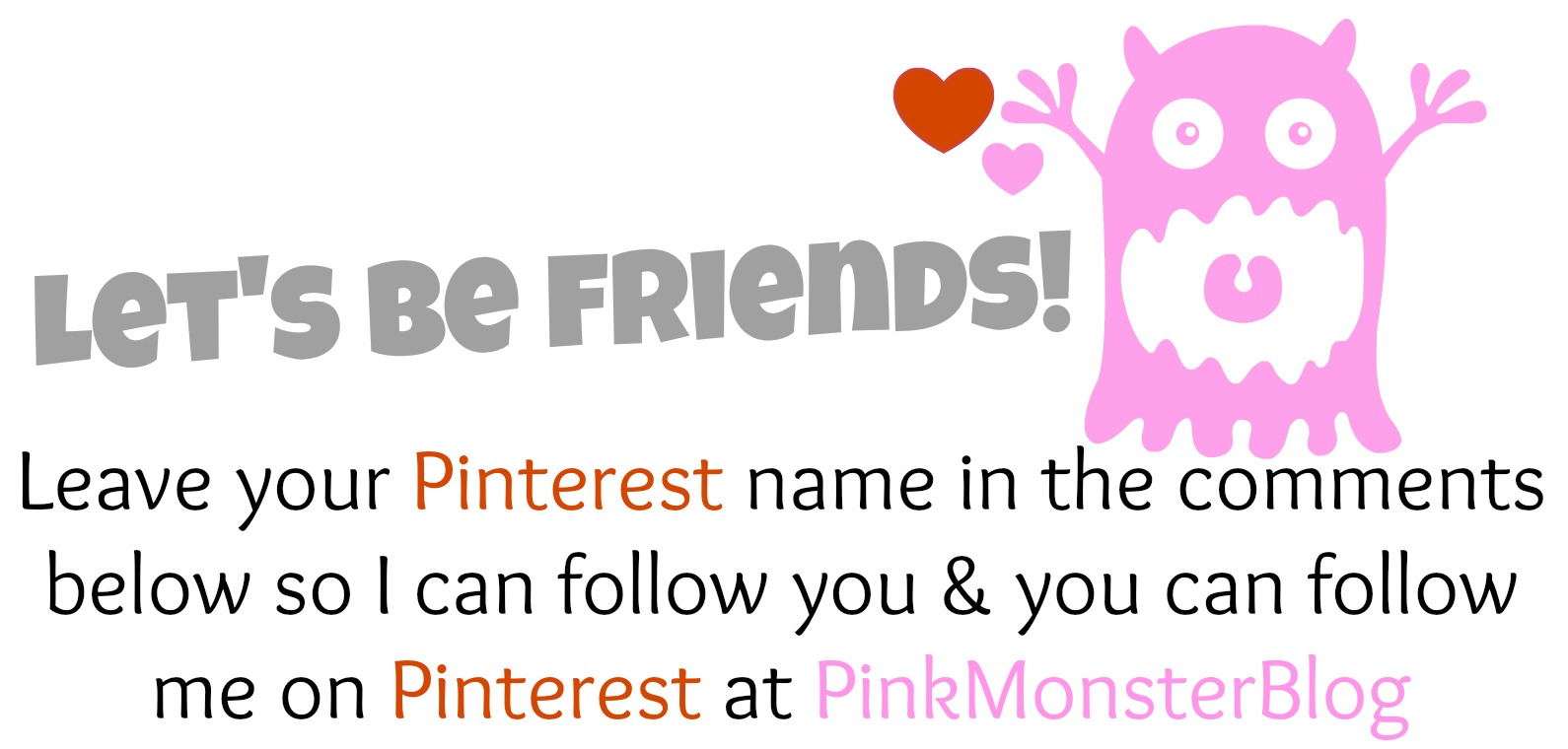 pinterest friends forever!