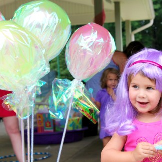Sam's Katy Perry (or Candyland) Birthday Party: The cake, decorations & activities