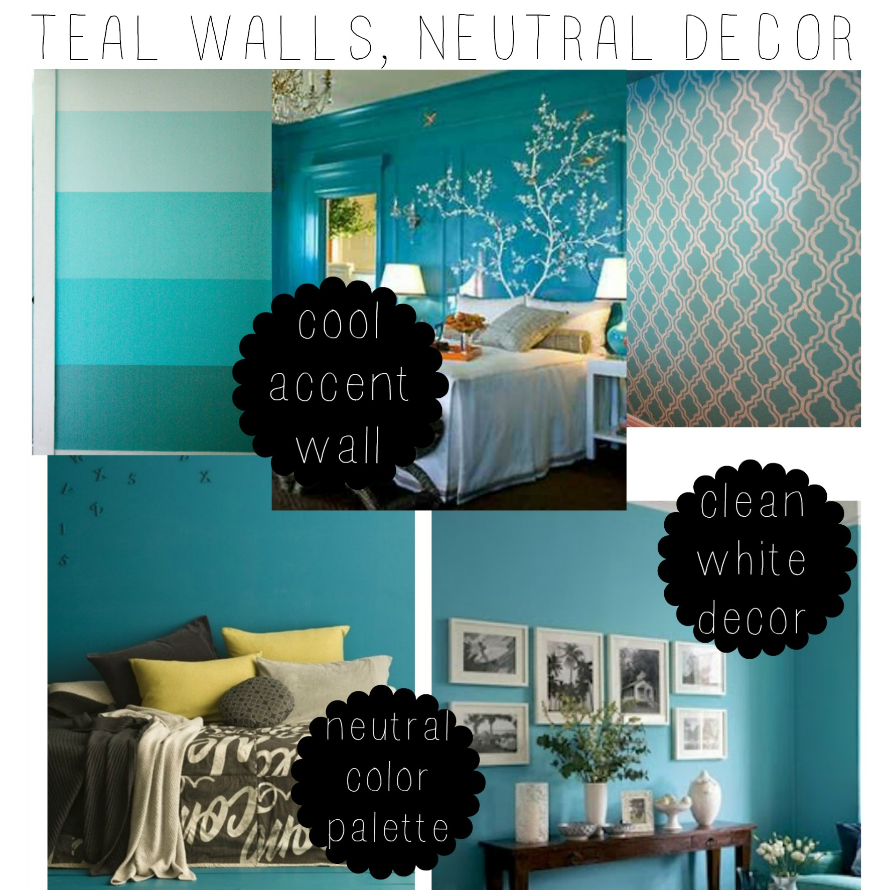 Tween Teal Bedroom Makeover::Little Pink Monster