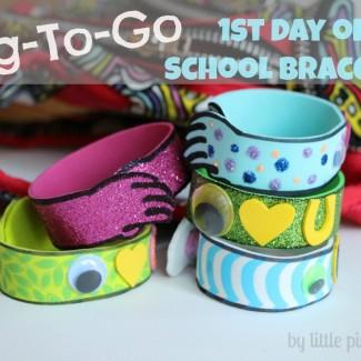 Hug-To-Go 1st Day of School Bracelet