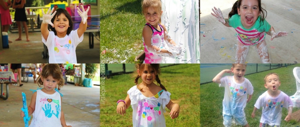 messy birthday party! :: by little pink monster