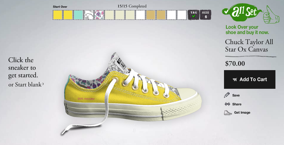 create your own converse:: little pink monster