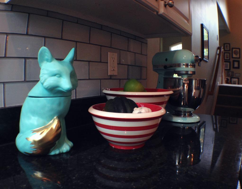 Fox Cookie Jar Makeover:: Little PInk Monster