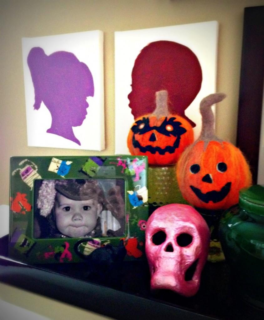 kid craft:: DIY glow in the dark spider web by Little Pink Monster