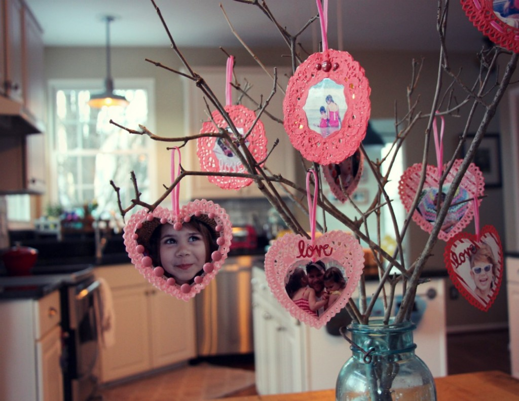 Valentines Tree by Little Pink Monster