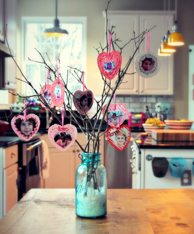 Instagram & Doiley Valentine Tree :: by Little Pink Monster