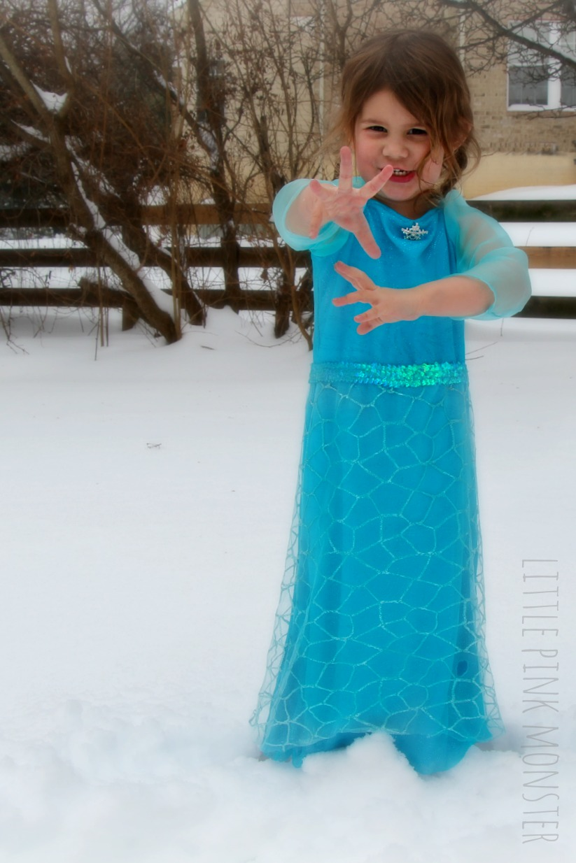 DIY Elsa Dress from Disney's Frozen