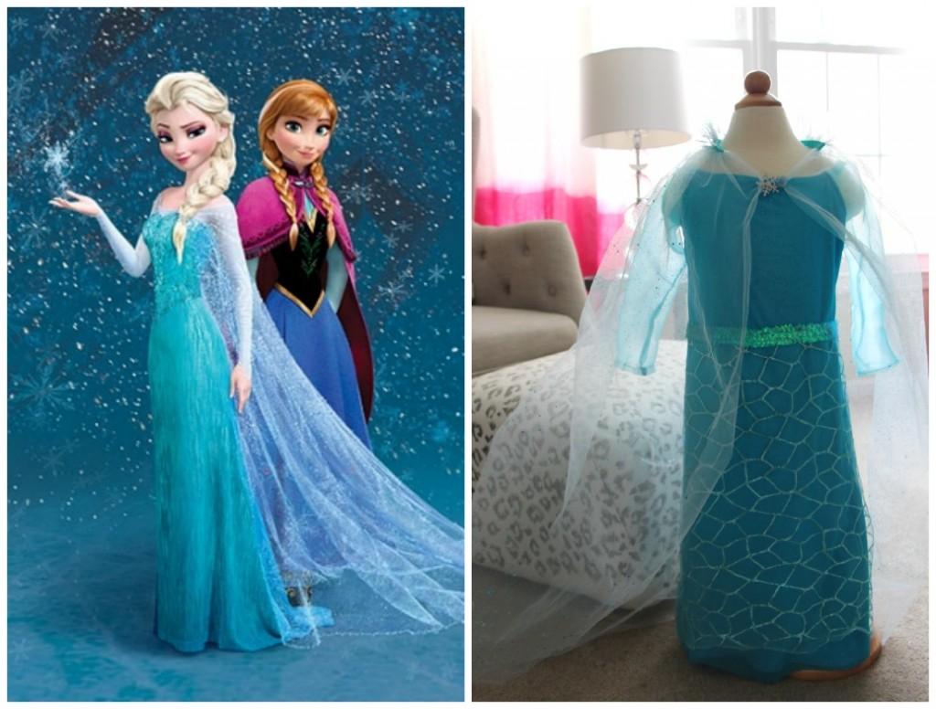 DIY Elsa Dress from Disney's Frozen