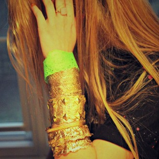 DIY Lace Cuffs