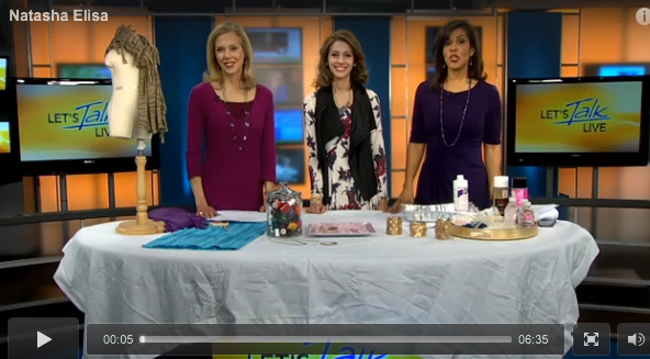 DIY accessories with LPM on Lets Talk Live