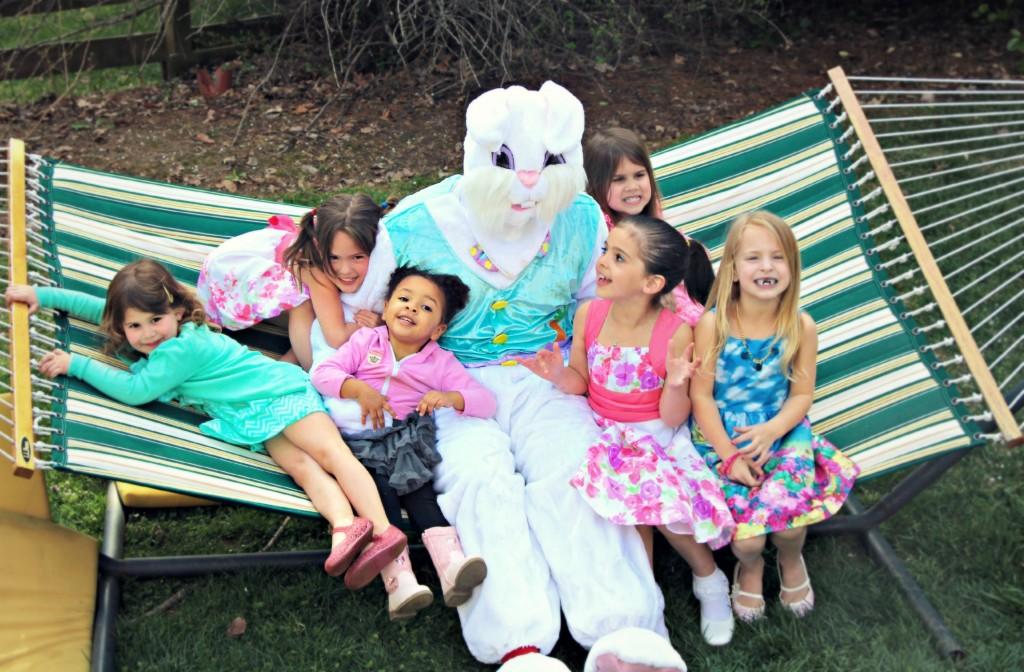 Easter at little pink monster