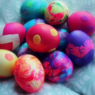 Four *NEW* ways to decorate Easter Eggs!