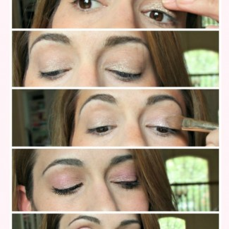 Beauty How to: Rose Gold Eyeshadow (aka how to get compliments every single day)