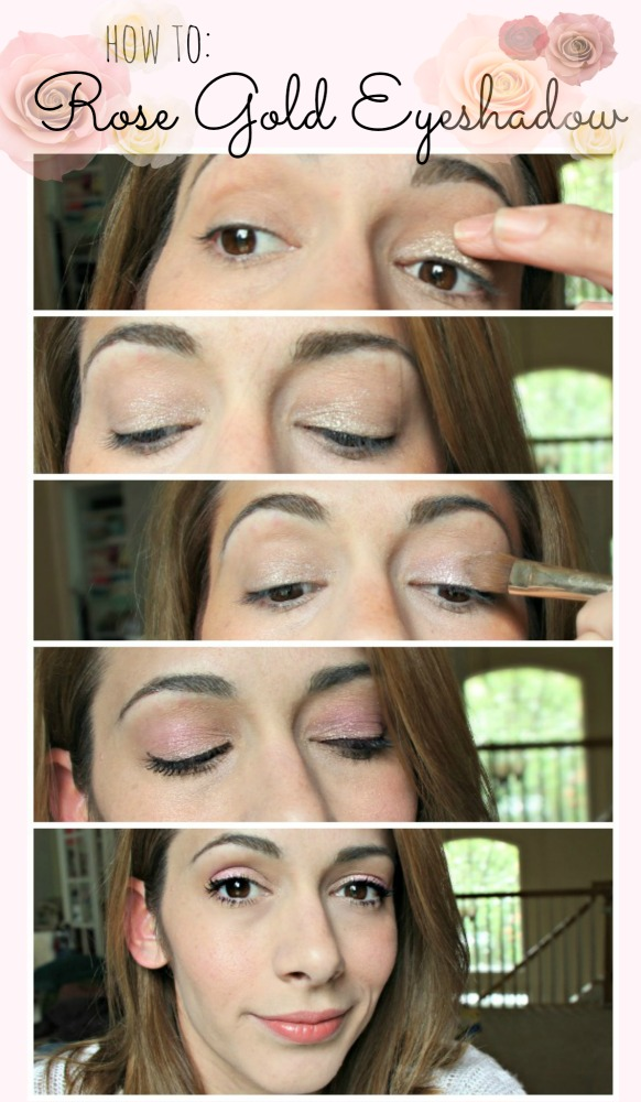 how to: Rose Gold Eyeshadow by Little Pink Monster