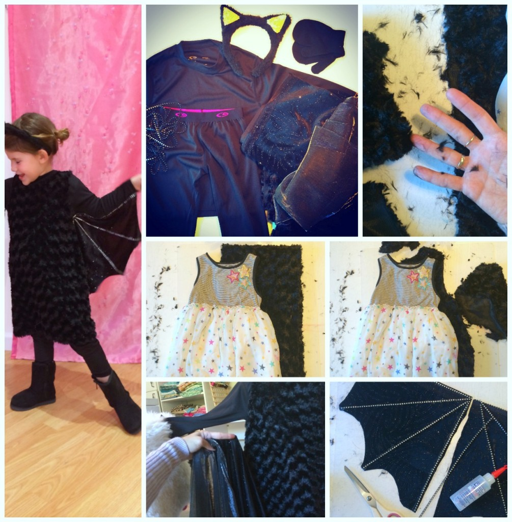 Girl's Easy Bat Costume by Little Pink Monster